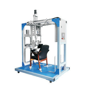 Chair Base Vertical Force Lab Testing Machine / Furniture Fatigue Testing equipment