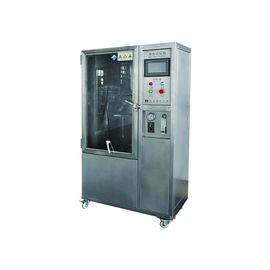 ประเทศจีน IPX3 / IPX4 Programmable IP Testing Equipment Computer Controller Rain spray Test Room โรงงาน